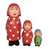 Wooden Doll/ Madame Dots/ S