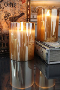 Champagne Radiance Poured Candle LED
