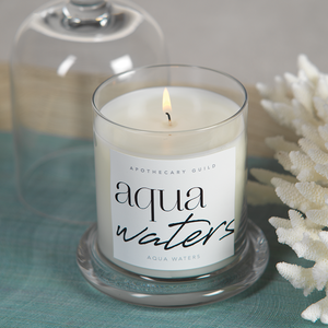 Aqua Waters Apothecary Guild Scented Candle Jar