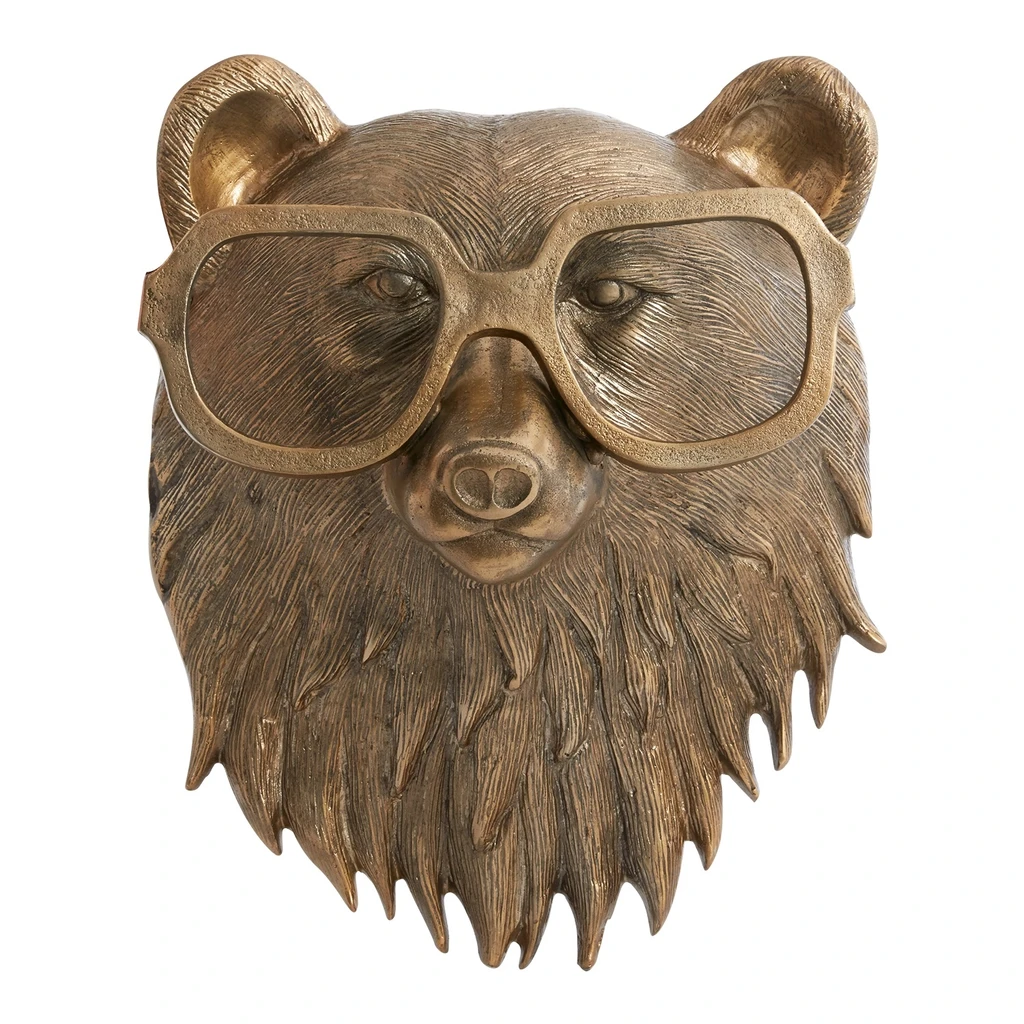 Beatrice Bear Wall Mount