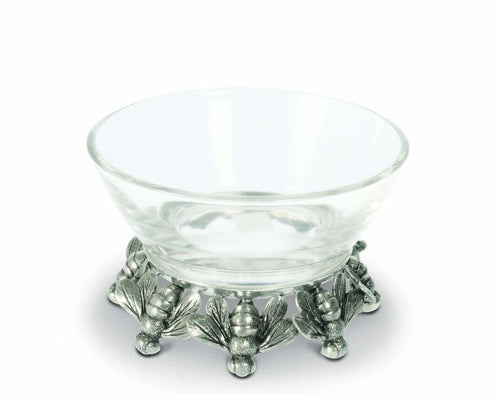 Honeybee Glass Bowl