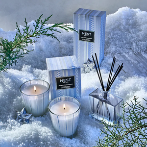 Blue Cypress & Snow NEST Classic Candle