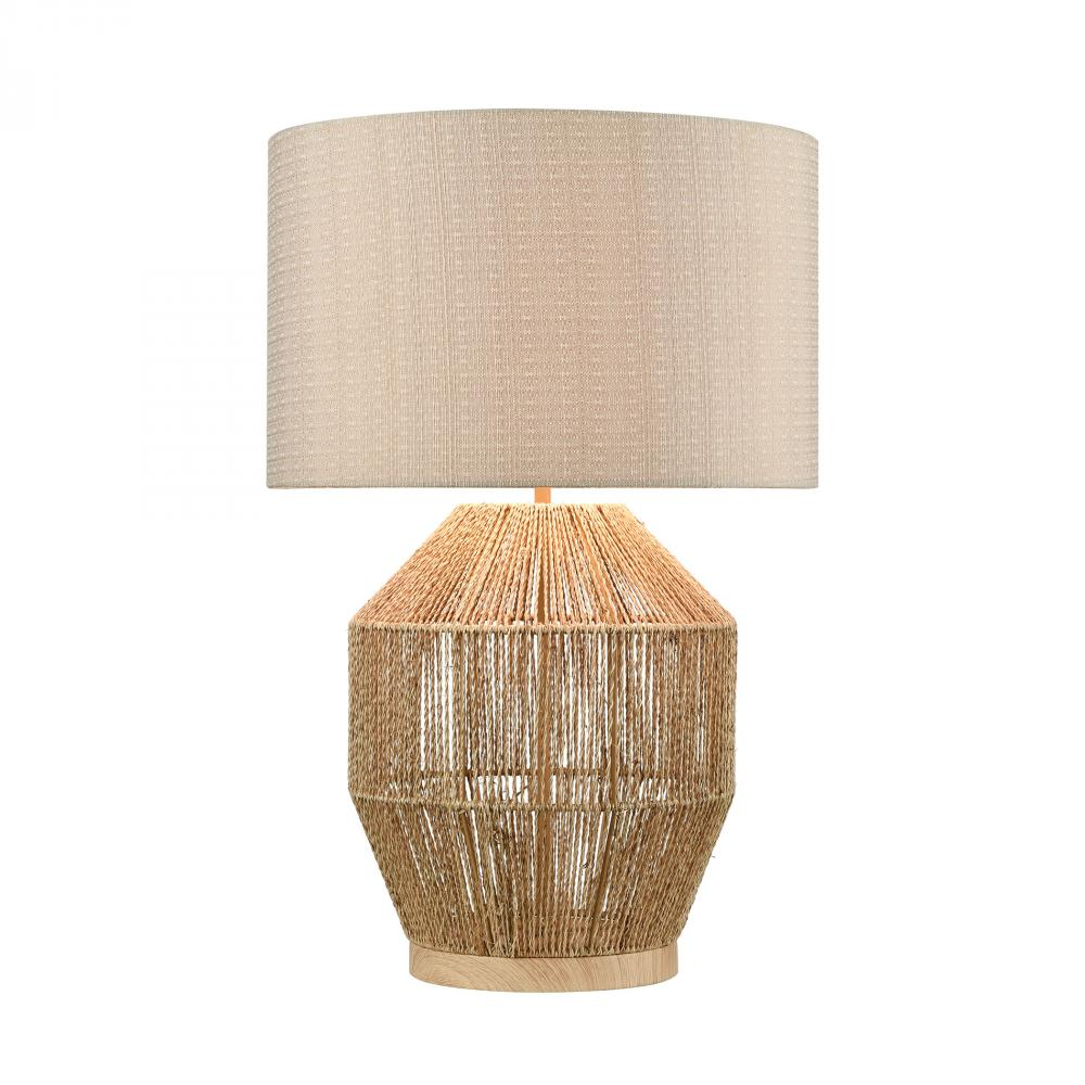 Corsair Table Lamp in Natural Finish