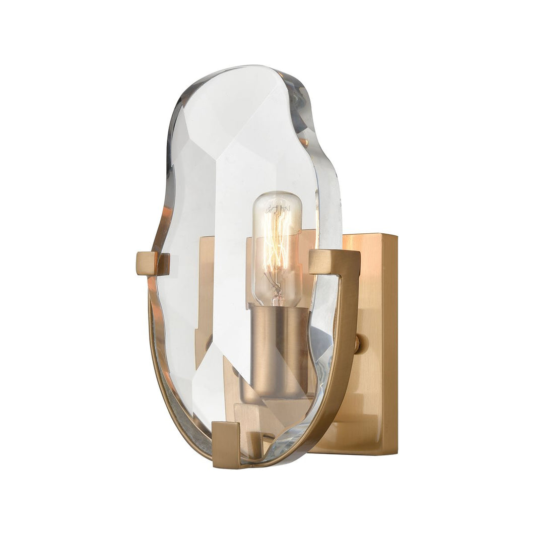Priorato 1-Light Wall Sconce in Cafe Bronze