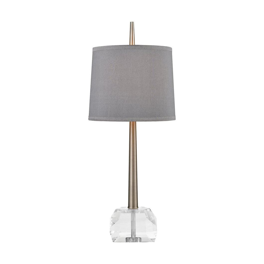 Event Horizon Table Lamp in Pewter