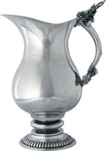 Load image into Gallery viewer, Pewter Oak Leaf Pitcher