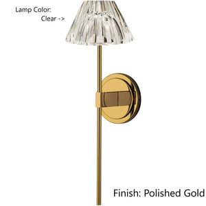 Lindy Long Wall Light (Various Colors)