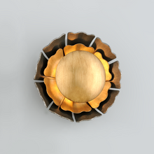 Load image into Gallery viewer, Magic Garden Wall High Bronze Leaf Flower Wall Sconce