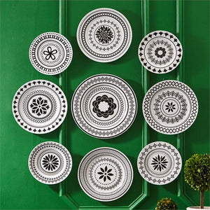 Modern Manor Wall Plates (Set of 9)
