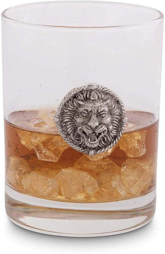 Lion Head Double Old Fashion