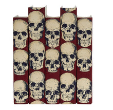 Load image into Gallery viewer, Rad Skulls Red Decorative Books