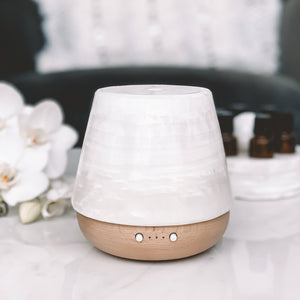 Ruby Stone Diffuser - White Cloud