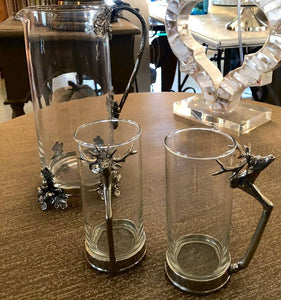 Stag Glass Tall