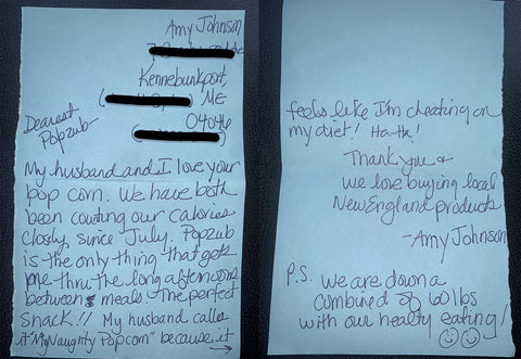 Amy's Letter 10-2020