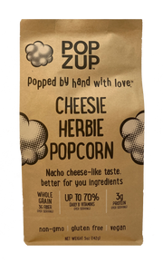 3 Cheesie Herbie Popcorn Bages