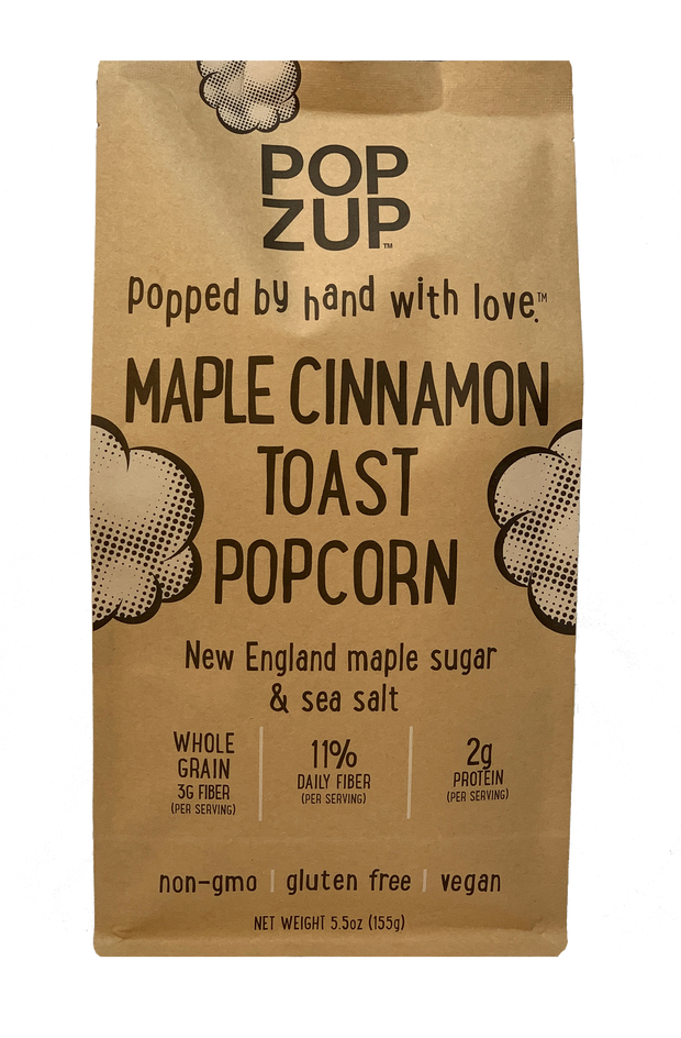 3 Maple Cinnamon Toast popcorn Bags
