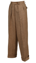 1930s high waist ladies trouser