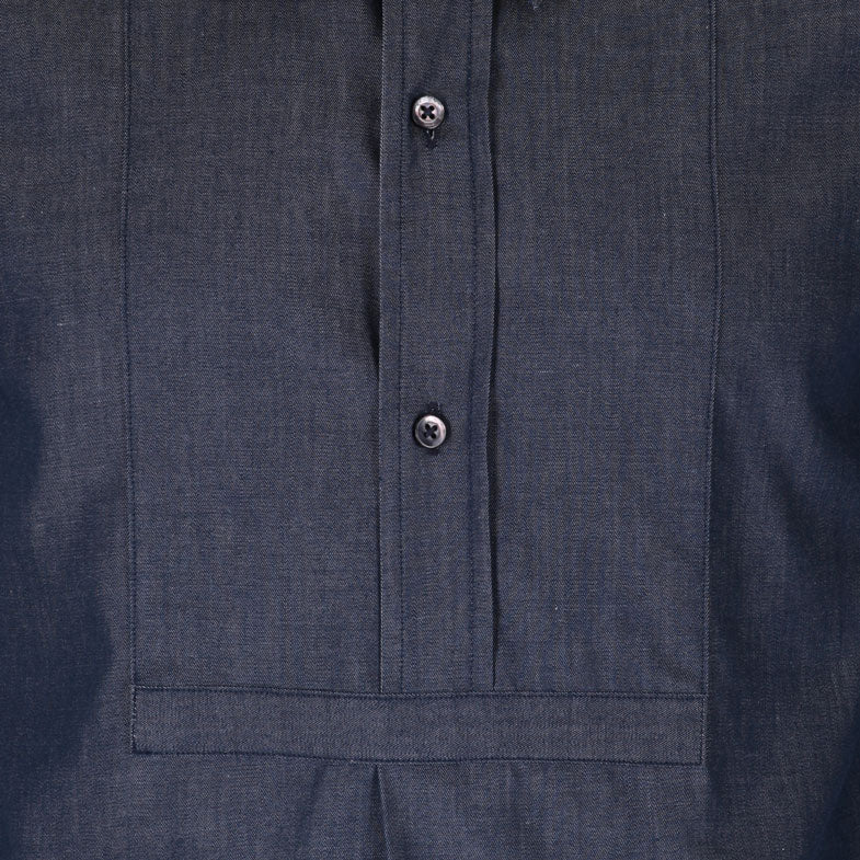 Ladies Boyfriend 1930s Chambray Shirt