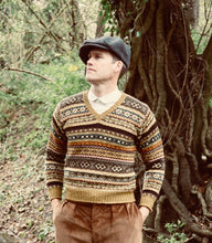 Fair Isle sweater made in Shetland by Oldfield Outfitters