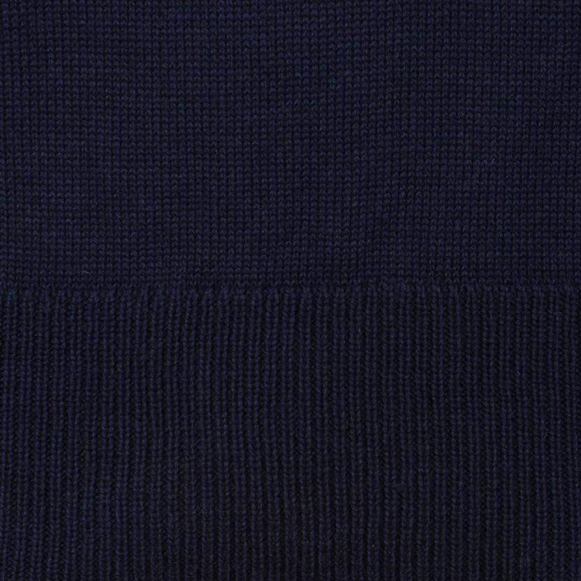 British roll neck sweater