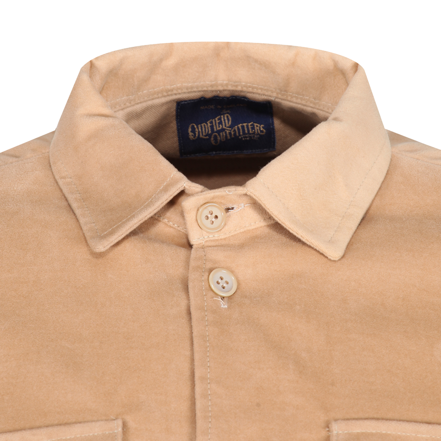 Moleskin over shirt