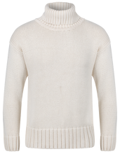 1930s Polo Neck Natural Sweater