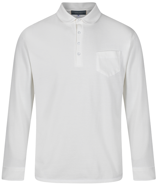 Jersey Cotton Shirt Natural - Round Collar