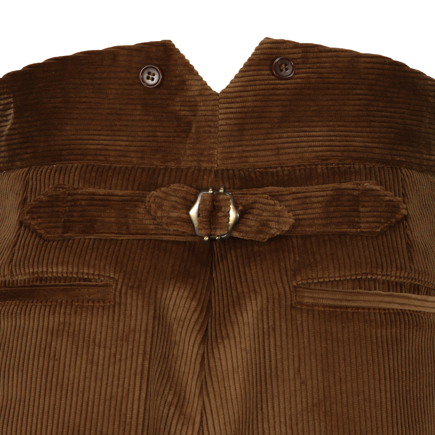 Cinch back trouser