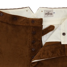 Button fly trousers