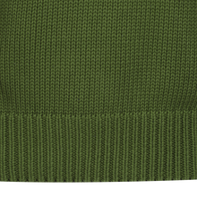 1930s Boat Neck Green Sweater