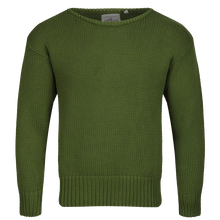 Vintage 1930s green cotton boatneck