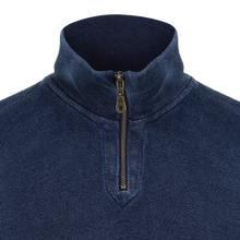 1930s Indigo Zip Sports Shirt