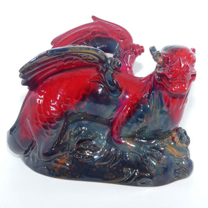 #2085 Royal Doulton Flambe Dragon