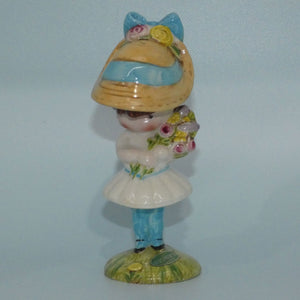 #2317 Beswick England Joan Walsh Anglund | Anglund Girl with Flowers
