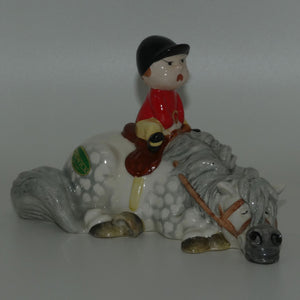 #2769A Beswick Thelwell Kick-Start (Grey)