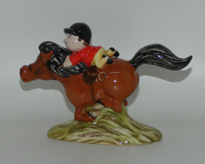 #2789B Beswick Thelwell Pony Express (Brown)
