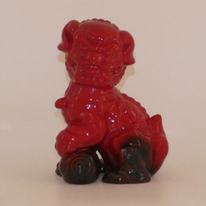 #2957 Royal Doulton Flambe Dog of Fo (RDICC exclusive)