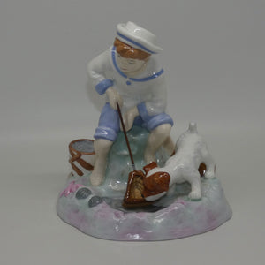 CH9 Royal Doulton figure Caught One