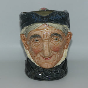 D5521 Royal Doulton large character jug Toothless Granny