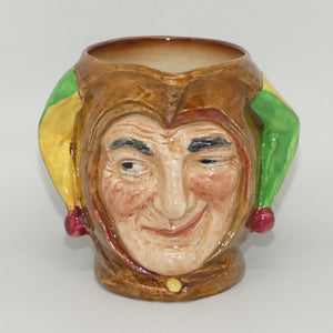 D5556 Royal Doulton small character jug Jester