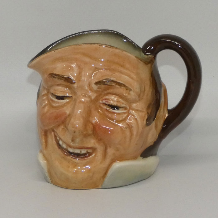D5789 Royal Doulton small character jug Farmer John (Inside Handle)