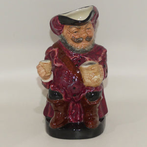 D6063 Royal Doulton small toby jug Falstaff | ETC