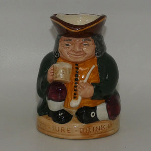 D6108 Royal Doulton small toby jug Honest Measure