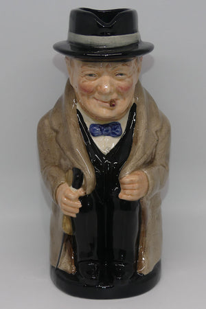 D6171 Royal Doulton large toby jug Winston Churchill