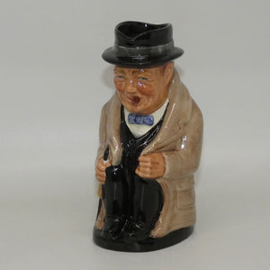 D6172 Royal Doulton medium toby jug Winston Churchill
