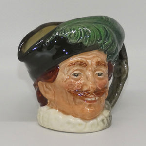 D6173 Royal Doulton small character jug The Cavalier