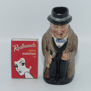 D6175 Royal Doulton small toby jug Winston Churchill