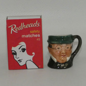 D6260 Royal Doulton tiny character jug Mr Pickwick