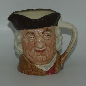 D6296 Royal Doulton small character jug Sam Johnson