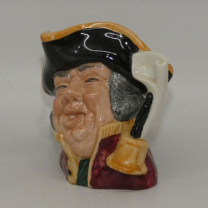 D6537 Royal Doulton small character jug Town Crier (ETC)